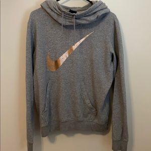 Nike funnel neck hoodie!